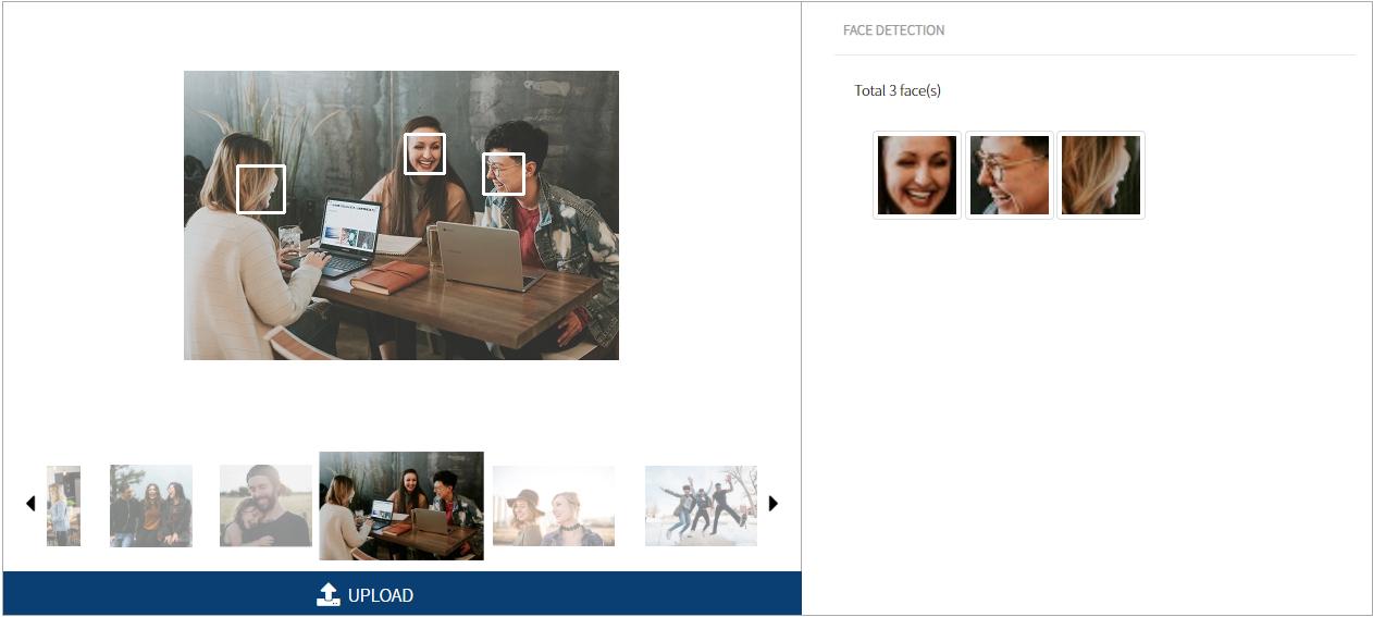, AI Face Detection_en, cometrue.ai AI CLOUD PLATFORM