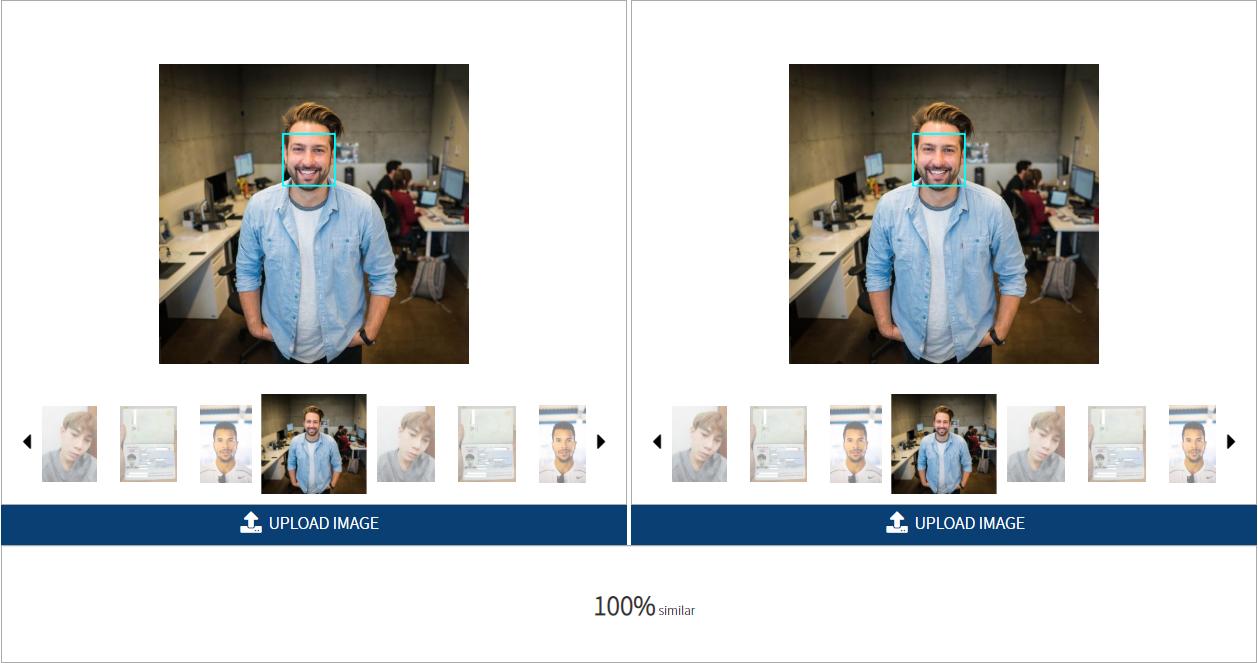, AI Face Similarity Analysis_en, cometrue.ai